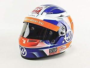 Mini Helmet- Coche en Miniatura de colección, 4120517, Rojo, Azul y Blanco
