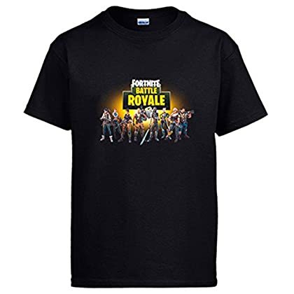 Camiseta Fortnite Battle Royale - Negro, 12-14 Años