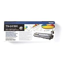 Brother TN241BK Toner Originale Capacità Standard, fino a 2500 Pagine, per Stampanti HL3140CW, HL3150CDW, HL3170CDW, DCP9020CDW, MFC9140CDN, MFC9330CDW, MFC9340CDW, Nero