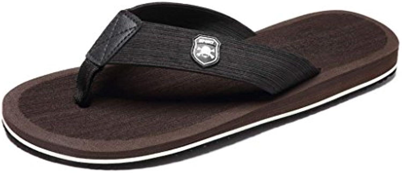 Chanclas Chanclas de Playa Masculinas Chanclas Sandalias para Hombres Zapatillas de Hombres Ocasionales Zapatillas...
