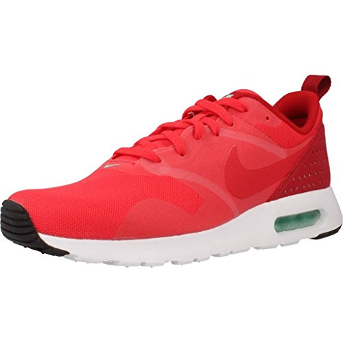 Nike Air Max Tavas, Chaussures de Running Entrainement Homme, Rouge Rouge (Action Red/Action Red/Gym Red/White)