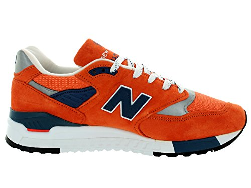 New Balance M998 Connoisseur East Coast Summer Chaussure de sport homme Orange/Navy/Silver