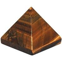 Crocon Tiger Eye Pyramide Edelstein Energie Generator für Reiki Healing Chakra Balancing Aura Cleansing & EMF... preisvergleich bei billige-tabletten.eu