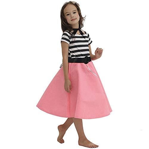 le Girl Pudel Kleid Cosplay Kostüm Weihnachts-Prom-Kleid,M ()