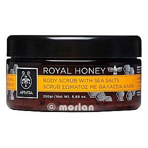 Apivita Royal Honey Body Scrub with Sea Salts and