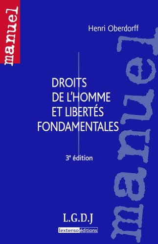 Droits de l'homme et libertés fondamentales par Henri Oberdorff