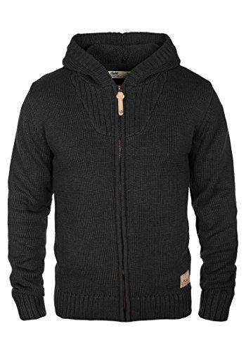 SOLID Penda - Cardigan da Uomo, taglia:XL;colore:Black (9000)