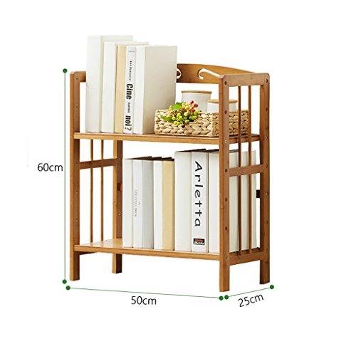 SH-shujia Bücherregal Regal Massivholz Landung Einfache und Moderne Bücherregal Wohnzimmer Schlafzimmer Tisch Bücherregal (größe : A)