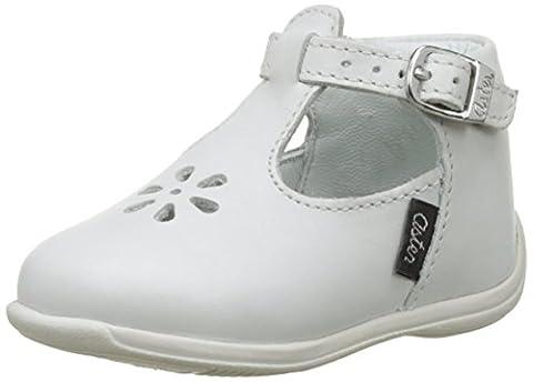 Aster Odjumbo, Sandales Bébé Fille, Blanc (Blanc), 22