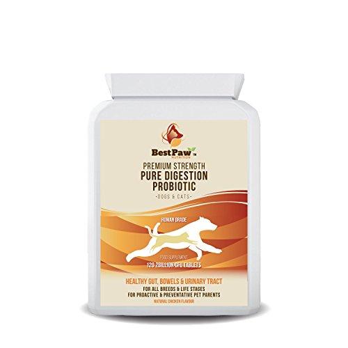 Best Paw Nutrition Reine Verdauung Probiotika 2 Milliarden 120 Tablets