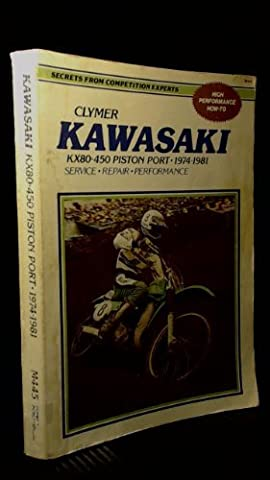 Kawasaki KX80-450 piston port, 1974-1981: Service, repair,