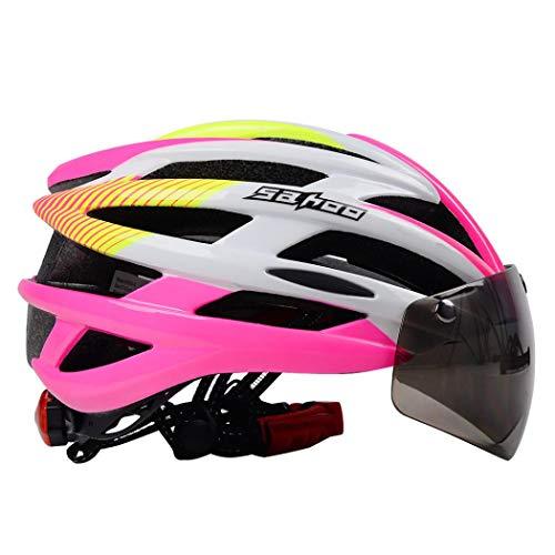 Coocle Kinder Fahrradhelm, Downhill Helm Skaterhelm für Jungen, Sicherer Kinderhelm Skaterhelm Kinder Jungen Mädchen Fahrradhelm Kinder (Pink)