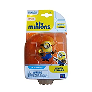 Despicable Me Minions Movie Minion Stuart 2 with Guitar (20212) by Thinkway 4