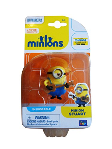 Despicable Me Minions Movie Minion Stuart 2 with Guitar (20212) by Thinkway 1