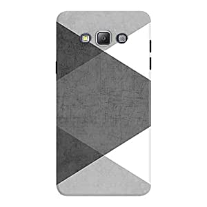 DailyObjects Black and White Triangles Case For Samsung Galaxy A7