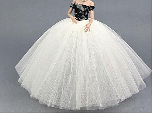 Hohe Qualität Handgemachte Hochzeit Kleid für 11.5
