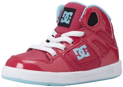 DC Shoes Rebound Ul K, Sneaker bambini Multicolor Frambuesa