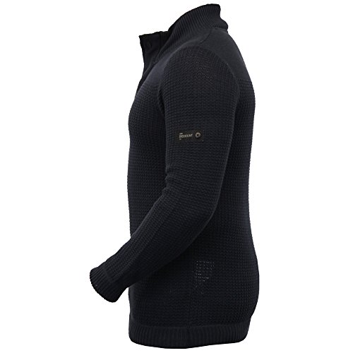 Hommes Laine Mélangée Pull Tricot Pull D'hiver Pull By Dissident Marine - 1A8020
