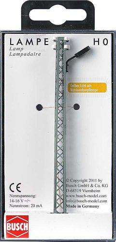 Busch Environnement - BUE4130 - Modélisme Ferroviaire - Lampadaire avec Mât