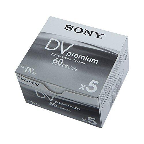 Sony DVM 60 PRE mini DV Cassetta per videocamera confezione 4 e 1