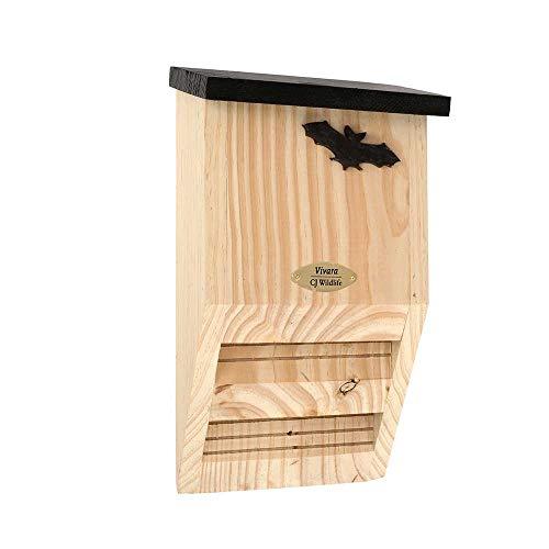 Vivara Fledermauskasten Almaurol - 21 x 37 x 12 cm - Holz - Nistkasten für Fledermäuse