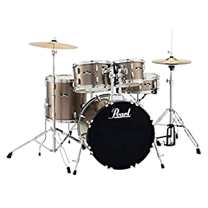 'Batteria pearl Roadshow Fusion 20 5 Botti – bronzo Metallic