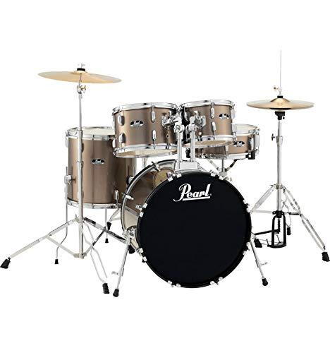 """Roadshow batteria 18 Pearl Junior """""""" fusti 5, colore: bronzo metallizzato"""