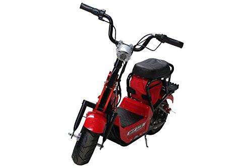 Preisvergleich Produktbild NEU Kinder Mini E-Bike Minibike Elektro Scooter 350 WATT Roller (rot)
