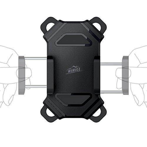 Hihill Soporte Móvil Bicicleta  Soporte Universal Manillar para de Bicicleta de montaña y Motocicleta  Soporte para iPhone X  7/7 Plus  6/6s  Samsung Galaxy y 4.5