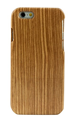 eimo iPhone 6 Plus 5.5'' Case Manuel Bois Protective Hard Back Case Cover pour Apple iPhone 6 plus 5.5''(tigre) zebrawood