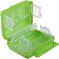 SaySure - Portable 8 Cells Pocket Pill Medicine Box Storage Case Organizer
