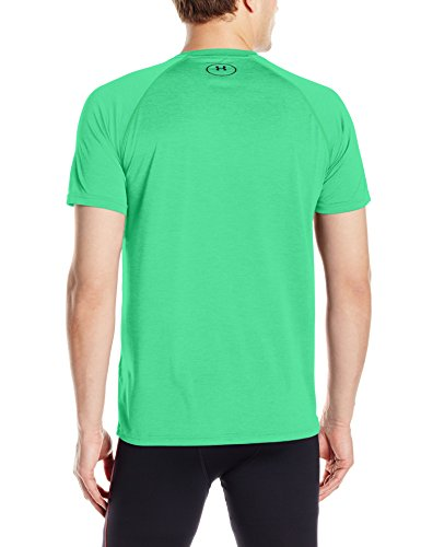 Under Armour Herren Fitness T-Shirt UA Tech Tee Grün (Vapor Green)