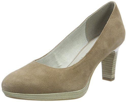 Tamaris Damen 22410 Pumps, Braun, 37 EU