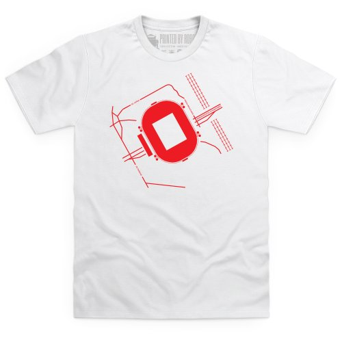 Amsterdam Arena T-Shirt, Herren Wei