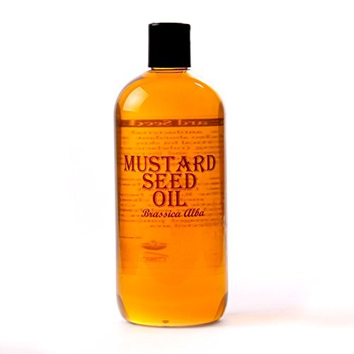 Huile de graine de moutarde - Huile base - 2x 500ml- 100% Pure