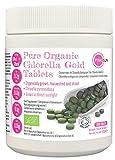 Organic Chlorella Tablets 1000 x 500mg Pyrenoidosa Tabs 500g with Broken Cell Wall