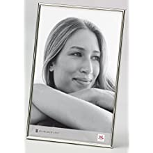 walther design WD030S Chloe silver plated portrait frame, 8 x 11.75 inch (20 x 30 cm), silver plated