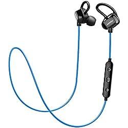 Mpow Auriculares Bluetooth 4.1 Inalámbricos Deportivos, Headphones In-ear con Technología de Cancelación del Ruido de CVC6.0 para Runing Correr Gym Compatible con iPhone 7 6s 6 Huawei P9 etc