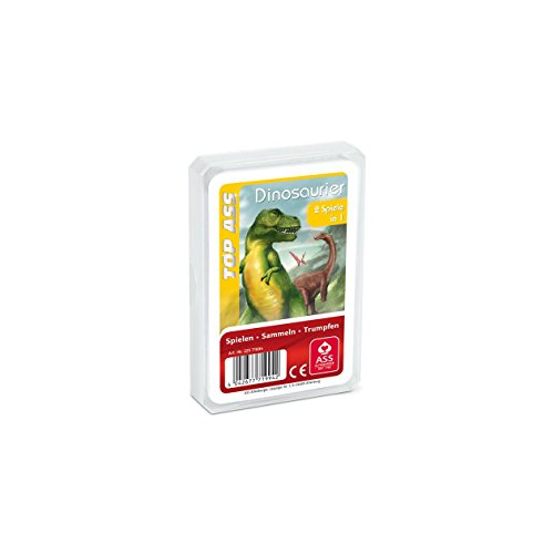 TOP ASS Tier-Quartett: Dinosaurier