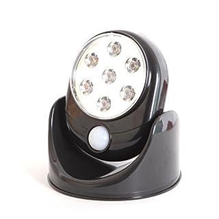 Bewegungsmelder mit Leuchte kabellos 7 LED Treppen, Veranden, Höfe, Garagen, Pfade, Schränke und mehr