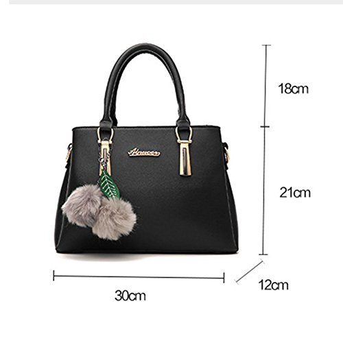 Shuhua Ladies Tote Handbag Ladies Shoulder Borsette In Pelle Rosa