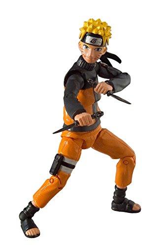 Toynami Naruto Shippuden 4 inch Poseable Figure Series 1 - Naruto Action Figure -10cm