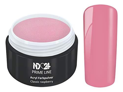 5G - PRIME LINE - ACRYL FarbPulver HIMBEERE ROSA PINK - Feinstes FARB Acryl-Puder Acryl-Pulver...