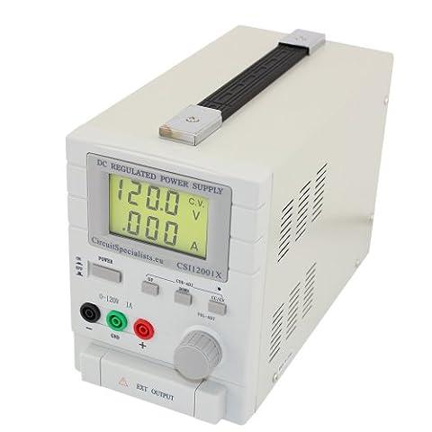 CSI 12001X DC bench power supply 0-120V 0-1A PSU plating anodising