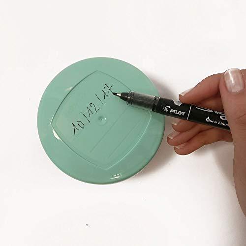 Babymoov Babybols Aufbewahrungsbehälter für Babynahrung – Multi-Set 15-teilig (3 x 120 ml + 3 x 180 ml + 6 x 250 ml + 3 flexible Löffel), hermetischer Drehverschluss - 5