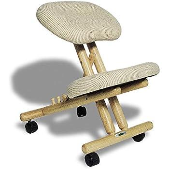 Sedia ergonomica cinius col naturale casa e for Sedia ergonomica