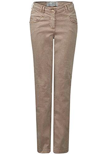 CECIL Damen Regular Fit Hose Janet sandy camel (beige)