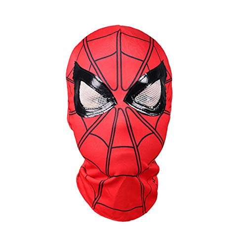 (hcoser Spiderman Maske für Homecoming Spiderman Helm Halloween Kostüm Cosplay Party Erwachsen/Kinder)