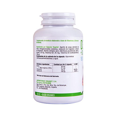 Zoom IMG-3 vitamina d3 k2 e silicio