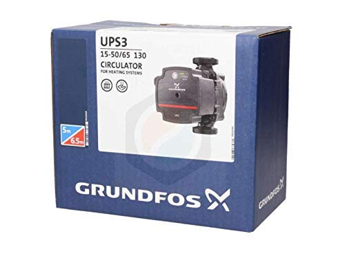 "Price comparison product image ""New Model"" GRUNDFOS UPS3 15-50 / 65 Pump - Replaces UPS2 15-50 / 60"